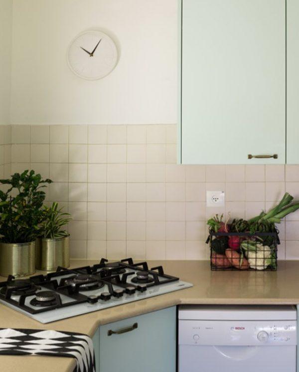 מקום לחיות בו // שיפוץ חלקי לדירה בכרמל
